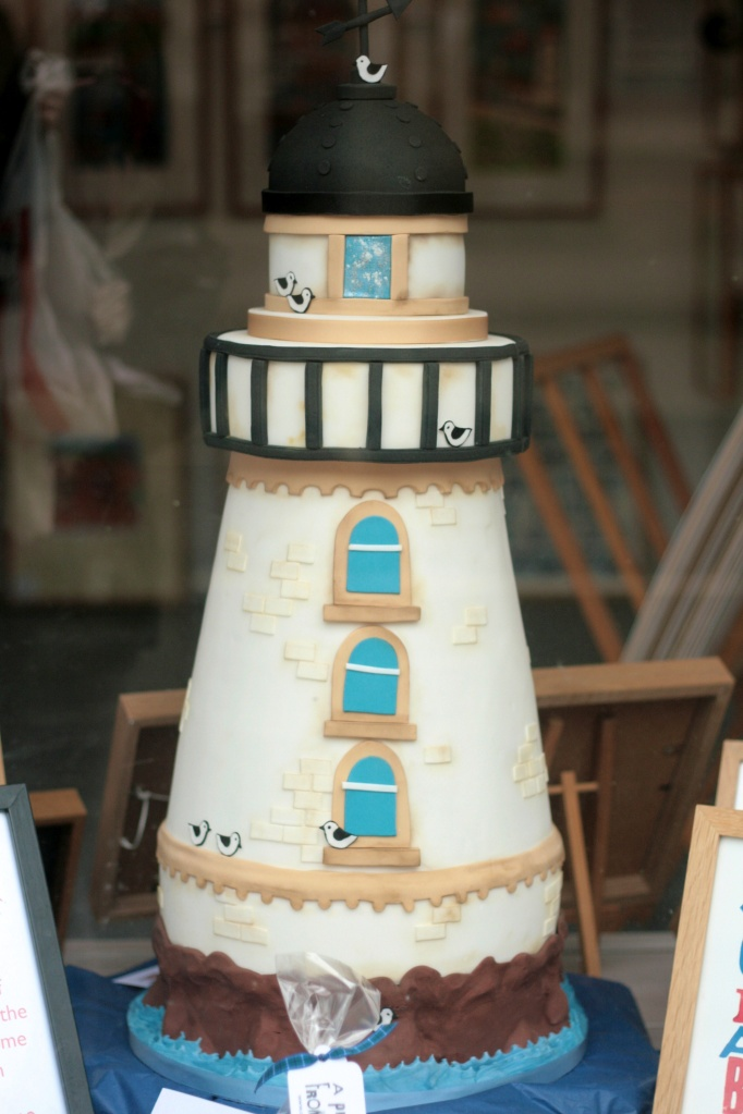 A masterpiece: lighthouse cake by Sucre Coeur